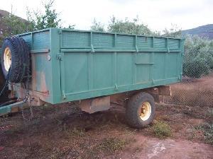 Comprar online Remolques agrícolas CAMERO 5000 kg de segunda mano