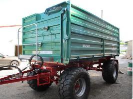 Remolques agrícolas ZDK 1802 Uni Lomma