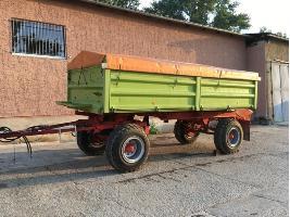 Remolques agrícolas HW80.11 ND mit Conow Getreideaufbau Conow