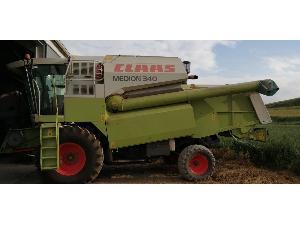 Venta de Cosechadoras de cereales Claas cosechadora  medion 340 usados