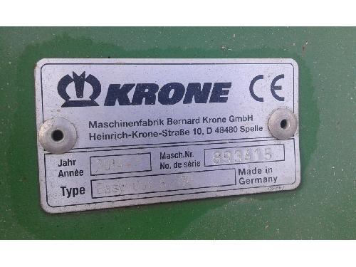 Falciatrici a dischi Krone SEGADORA  EASY CUB B970