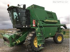 Cosechadoras de cereales 1550 CWS John Deere