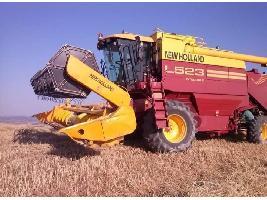 Cosechadoras de cereales L523 Integrale con equipo de nivelación de 4 puntos New Holland
