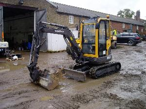 Backhoe loaders Volvo ECR28