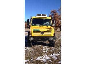 Verkauf von Trucks Mercedes-Benz unimog u4000 gebrauchten Landmaschinen