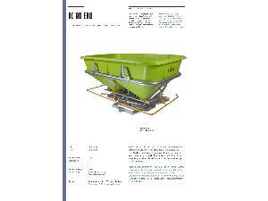 Verkauf von Kreiselpumpen Düngerstreuer ROCHA kc 2000 gebrauchten Landmaschinen