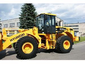Verkauf von Lader Hyundai hl760-7a gebrauchten Landmaschinen