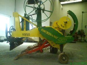 Verkauf von Kunststoff-Rollen ESCRIBANO  gebrauchten Landmaschinen