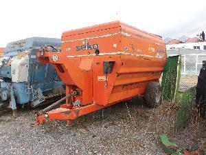Verkauf von Horizontale Mischer Seko s80 gebrauchten Landmaschinen