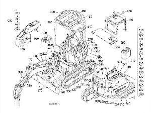 Verkauf von Minibagger Kubota k - kx - kh - u - r gebrauchten Landmaschinen