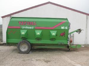 Verkauf von Remolques Unifeed Tatoma  gebrauchten Landmaschinen