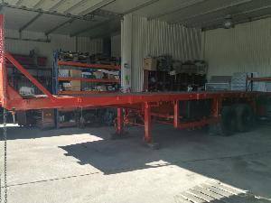 Verkauf von Plattformwagen Trailor  gebrauchten Landmaschinen