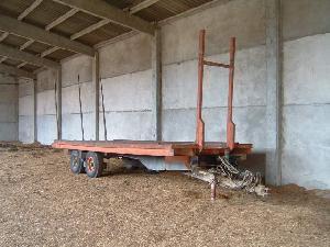 Verkauf von Plattformwagen Vila plataforma paja gebrauchten Landmaschinen