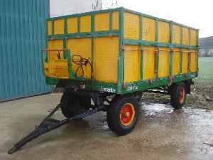 Verkauf von Kipper Anhänger LLORENTE  gebrauchten Landmaschinen