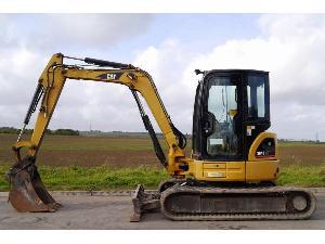 Verkauf von Alisadoras Caterpillar 304c gebrauchten Landmaschinen