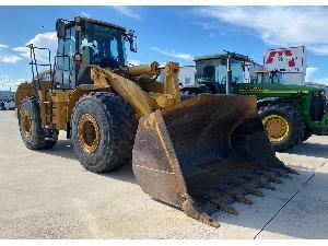 Verkauf von Reifen-Lader Caterpillar pala cargadora 966 gii gebrauchten Landmaschinen