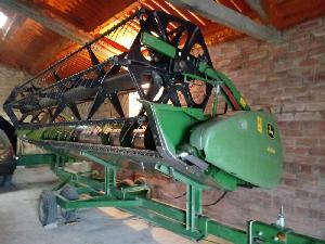 Verkauf von Zubehör Mähdrescher John Deere plataforma de corte  618r gebrauchten Landmaschinen