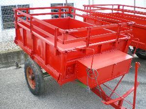 Verkauf von Landwirtschaftliche Anhänger Lander remolque minitractor gebrauchten Landmaschinen