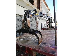 Verkauf von Landwirtschaftliche Anhänger LOGLIF MESERA grúa gebrauchten Landmaschinen