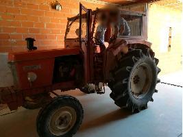 Tractores Antiguos Super 7E Renault