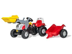 Angebote Pedales Steyr cvt 6190 tractor infantil juguete a pedales con remolque y pala gebraucht
