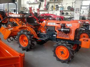 Vente Micro-tracteurs / Mini-tracteurs Kubota b 6001 dt con rotavator Occasion