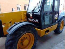 Cargadoras telescópicas TH63 Caterpillar