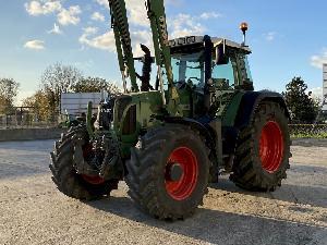 Acheter en ligne Tracteurs agricoles Fendt 714 vario  d'occasion