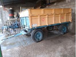 Remolques agrícolas Remolque 5000 kg sin marca