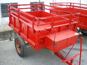 Comprar online Rimorchi agricoli Lander remolque minitractor de segunda mano