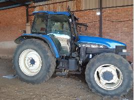 Tractores agrícolas TM135 New Holland