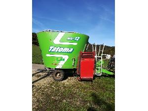 Venta de Carrello alimentatore Tatoma carro mezclador usados