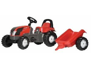Venta de Tractores de juguete Valtra tractor infantil juguete a pedales con remolque usados