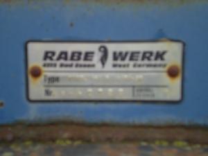 Venda de Arado de aiveca e grade Rabewerk  usados