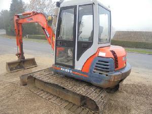 Comprar on-line Escavadoras de rodas Kubota kx161-2 em Segunda Mão