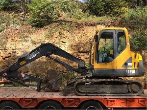 Comprar on-line Tractores Volvo ec55b em Segunda Mão