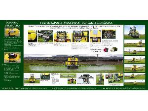 Comprar on-line Pulverizador montado tractor BRUPER equipo hidraúlico 1500l em Segunda Mão