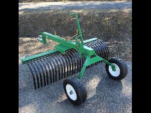 Comprar on-line Grade de disco AgroRuiz rastrillo de puas arrastrado 1,20 m em Segunda Mão