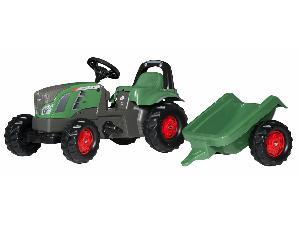 Comprar on-line Tractores de juguete Fendt tractor infantil juguete a pedales  con remolque em Segunda Mão