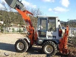 Comprar on-line Mini-escavadora Kubota r510 em Segunda Mão