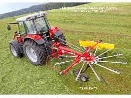 > TS 456 DN TA - 1 rotor / eje tándem Fella