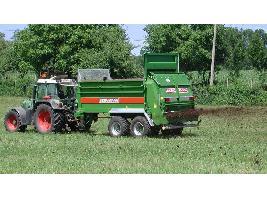 > TSW 3140 T - ESPARCIDOR HORIZONTAL DE ESTIERCOL - Eje tandem 15 Tons. Bergmann