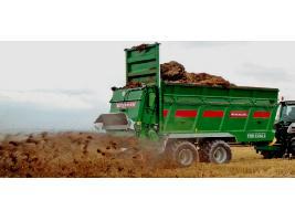 > TSW 6240 S - ESPARCIDOR HORIZONTAL DE ESTIERCOL - Eje tandem 24 Tons. Bergmann