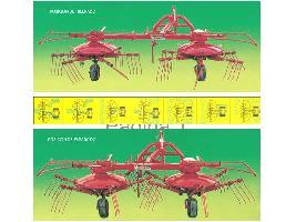 Serie UNIVERSAL 400 > HILERADOR ESPARCIDOR - 2 Rotores Sitrex