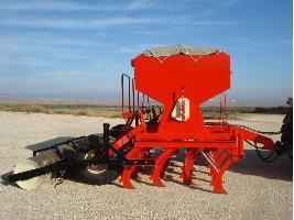 Sembradora de siembra directa de reja de 3 metros para cereales Larrosa