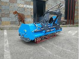 Desbrozadora trituradora suelo desplazable Makinor