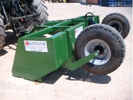 Niveladora de arrastre hidráulica reforzada Gaher Metalic