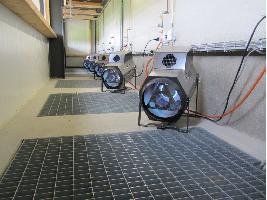 Calefactores de gas modulantes Mooij Agro