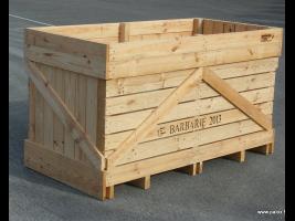 Caja de almacenamiento para patatas Barbarie