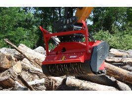 Trituradora forestal M550e-1300 Ahwi